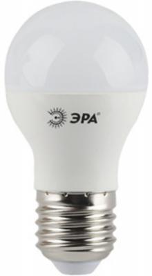 Лампа светодиодная ЭРА 360-LED P45-5w-840-E27 10/50/2400 5Вт Е27 420лм эра p45 e27 5w 230v желтый свет