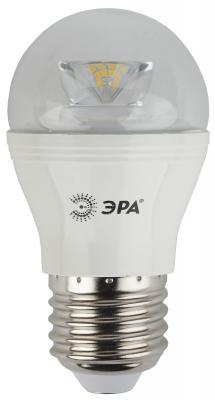 Лампа светодиодная ЭРА P45-7w-827-E27-Clear 7Вт Е27 600лм