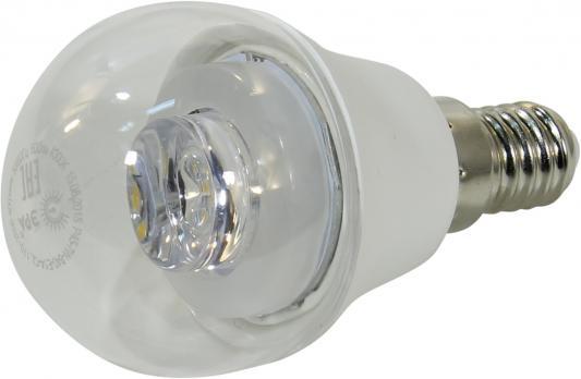 Лампа светодиодная ЭРА P45-7w-840-E14-Clear 7Вт Е14 600лм лампа светодиодная эра led smd bxs 7w 840 e14 clear