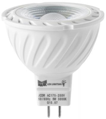 Лампа светодиодная МАЯК GU5,3/3W/3000K рефлекторная прозрачная GU5.3 АС:175-250V 3W