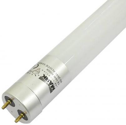 Лампа светодиодная МАЯК LB-T8AL-12/18W/6500-001 220B G13 трубка 1200мм мат. Алюм. АC:90-264V цена