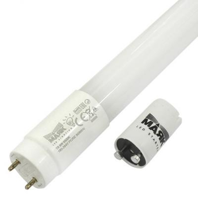 Лампа светодиодная МАЯК LB-T8PRO-06/8W/6500-001 220B G13 трубка 600мм мат. пластик АC:180-264 rcf du 50en