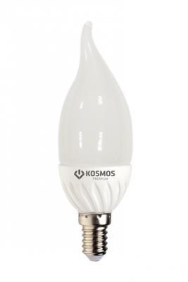купить Лампа светодиодная КОСМОС LED CN 7Вт 220В E27 3000К по цене 80 рублей