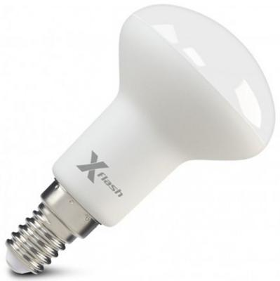 Светодиодная лампа X-FLASH XF-E14-R50-6W-4000K-230V 6W 4000K 230V E14 пермь москва самолет