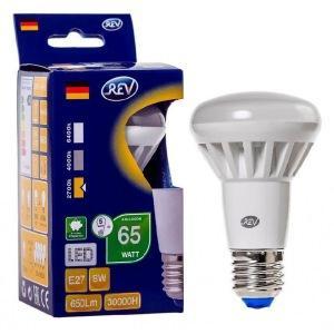 Лампа светодиодная REV RITTER 32336 5 R63 E27 8W 2700K лампа светодиодная эра r63 8w 840 e27
