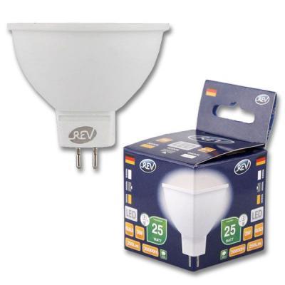 Лампа светодиодная REV RITTER 32370 9 3Вт GU5.3 250лм 4000К холодный свет цена 2017