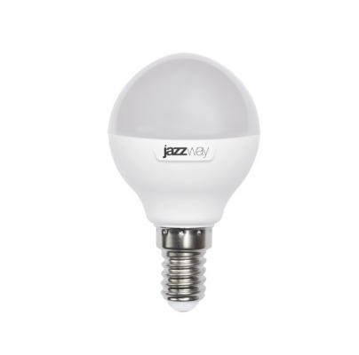 Лампа светодиодная JAZZWAY PLED-SP-G45 7Вт 5000k 560лм e14 230в лампа настольная jazzway ptl 620 purple