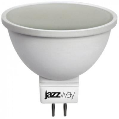 Лампа светодиодная JAZZWAY PLED-ECO-JCDR 5Вт 3000k 400лм gu5.3 лампа настольная jazzway ptl 016c blue