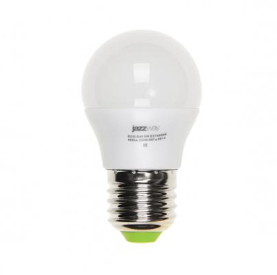 Лампа светодиодная JAZZWAY PLED-ECO-G45 5Вт e27 3000k 400лм лампа настольная jazzway ptl 1128 black