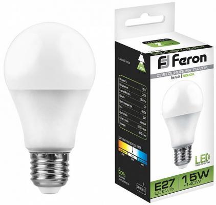 Лампа светодиодная FERON 25629 (15W) 230V E27 4000K, LB-94 стоимость