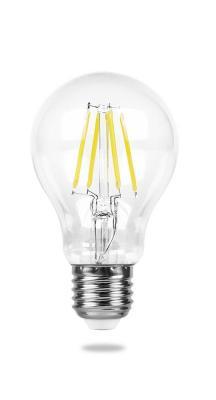 Лампа светодиодная FERON 25569 (7W) 230V E27 2700K, LB-57 лампа feron green de1708