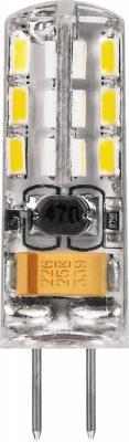 Лампа светодиодная капсульная FERON 25859 G4 2W 6400K feron лампа люминесцентная feron линейная матовая g5 6w 6400k 03010
