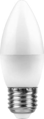 Лампа светодиодная FERON 25759 (7W) 230V E27 4000K, LB-97 лампа светодиодная feron 25629 15w 230v e27 4000k lb 94