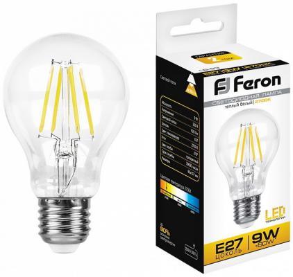Лампа светодиодная FERON 25631 (9W) 230V E27 2700K, LB-63 цена