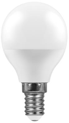 Лампа светодиодная шар FERON LB-550 E14 9W 4000K