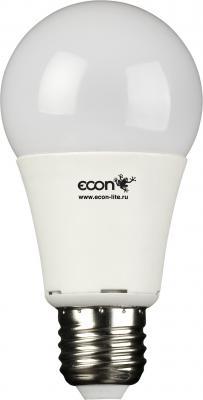 Лампа светодиодная ECON LED A 10Вт E27 3000K A60 110021 лампа светодиодная econ 75020