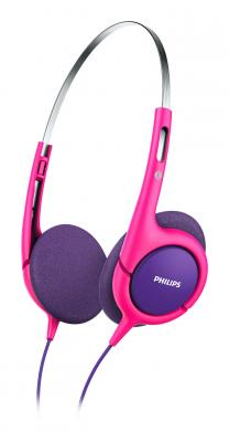 Наушники Philips SHK1031/00 фиолетовый розовый наушники philips she3550pk 00 розовый
