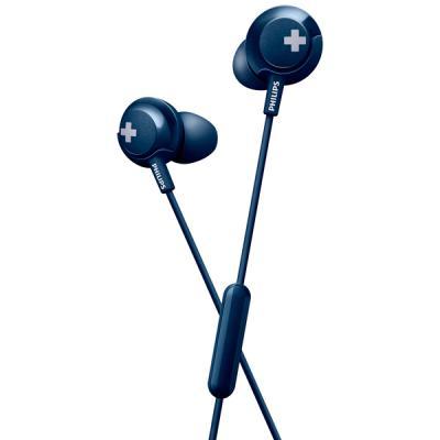 Гарнитура Philips SHE4305BL/00 синий гарнитура