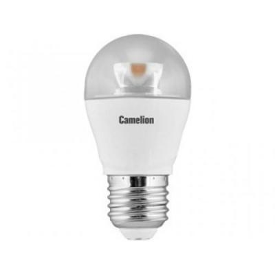 Лампа светодиодная шар Camelion LED6.5-G45-CL/845/E27 E27 6.5W 4500K 332977 светильник camelion lbs 0702 led 18w 4500k 12689