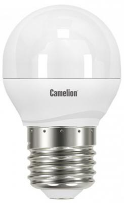 Лампа светодиодная шар Camelion LED7.5-G45/830/E27 E27 7.5W 3000K лампа светодиодная camelion led3 g45 830 е14