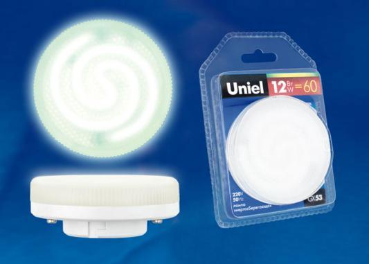 Лампа энергосберегающая UNIEL ESL-GX53-12/2700/GX53 GX53 12Вт 2700К стоимость