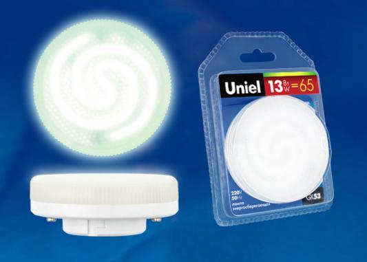 Лампа энергосберегающая UNIEL ESL-GX53-13/2700/GX53 GX53 13Вт 2700К стоимость