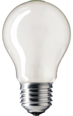 Лампа накаливания PHILIPS A55 60W E27 FR груша матовая philips b35 60w e14 fr