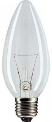 Лампа накаливания PHILIPS B35 40W E14 CL свеча прозрачная 1 шт цена