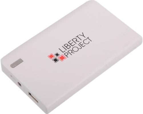 Внешний аккумулятор Power Bank 6000 мАч LP 0L-00029996 белый внешний аккумулятор samsung eb pn930csrgru 10200mah серый
