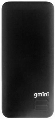 Внешний аккумулятор Power Bank 6000 мАч Gmini GM-PB052TC черный аккумулятор внешний gmini gm pb 4in1