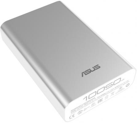 Внешний аккумулятор Power Bank 10050 мАч ASUS ZenPower ABTU005 серебристый 90AC00P0-BBT077 jingchengda laptop notebook netbooks dc power jack power socket connector for asus k73 k73e k73s k73sd k73sv x73s