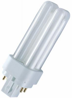 Лампа OSRAM DULUX D/E 26W/830 G24q-3 компактная 4050300327235 лампа osram dulux s 9w 827 g23 компактная 4008321580696