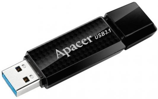 Флешка USB 32Gb Apacer Flash Drive AH352 AP32GAH352B-1 черный usb flash drive 16gb apacer handy steno ah326 white ap16gah326w 1