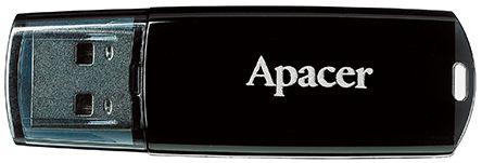 Флешка USB 32Gb Apacer Flash Drive AH322 AP32GAH322B-1 черный usb flash drive 32gb союзмультфлэш барашек fm32a7 35 lw