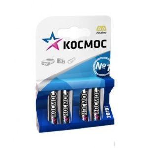 Батарейка КОСМОС KOCLR64BL LR LR6 BP-4 (цена за блистер-4шт.) батарейка космос kocr6 s r6s уп 4шт