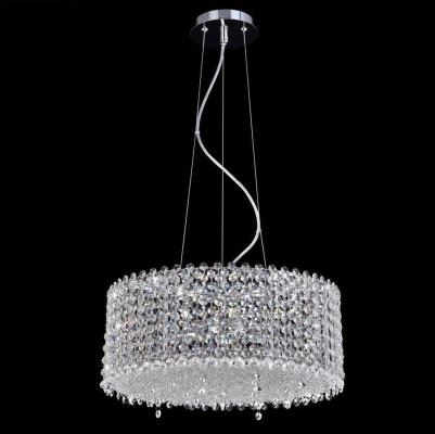 Подвесной светильник Crystal Lux Eternidat SP6 Chrome crystal lux dorotea sp6 d600 chrome