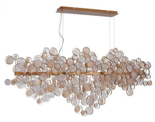 Подвесной светильник Crystal Lux Deseo SP15 L1400 Gold подвесной светильник crystal lux deseo sp12 l1000 gold