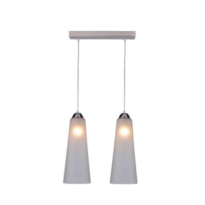 Подвесной светильник IDLamp Iris Glos 236/2-Chrome idlamp 236 3 chrome