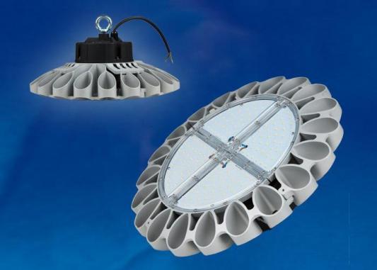 Подвесной светодиодный светильник (UL-00001705) Uniel ULY-U30C-100W/NW IP65 Silver подвесной светодиодный светильник ul 00001708 uniel uly u30b 100w nw ip65 silver