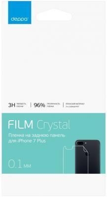 Защитная плёнка прозрачная Deppa 61426 для iPhone 7 Plus iPhone 8 Plus