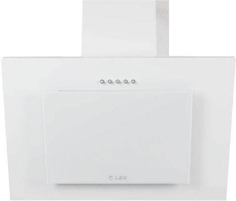 все цены на Вытяжка LEX MINI 600 WHITE 180Вт 37 дБ 420 м3/час белый онлайн