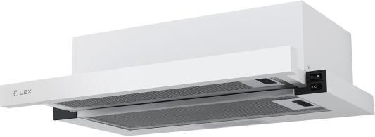 Вытяжка встраиваемая LEX HUBBLE 500 WHITE 570м3/час LED лампы вытяжка lex hubble 600 white