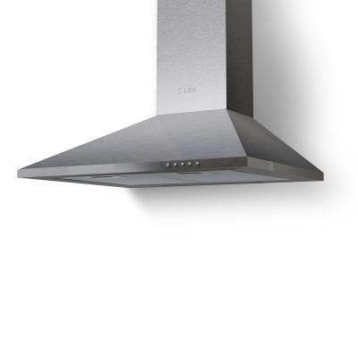 Вытяжка купольная LEX BASIC 600 INOX 540м3/час лампы накаливания вытяжки кухонные lex купольная вытяжка lex brig 600 inox