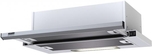 Вытяжка KRONASTEEL KAMILLA slim 600 INOX 2 мотора кухонная вытяжка kronasteel kamilla sensor 600 inox