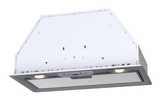 Вытяжка KRONASTEEL MINI 600 WHITE кухонная вытяжка kronasteel mini slider 900 white