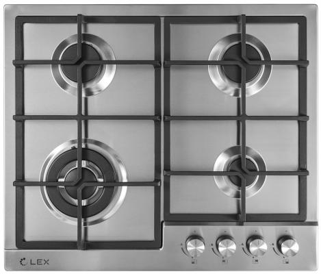 Варочная панель газовая LEX GVS 640 IX серебристый