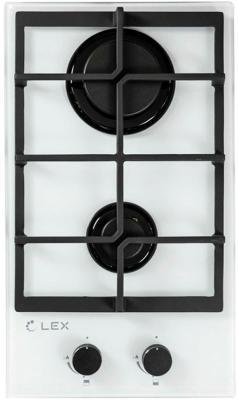 Встраиваемая газовая варочная панель LEX GVG 321 white 4000Вт 2 комфорки белый корпус fractal design define r6 black черный