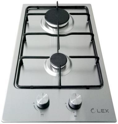 Варочная панель газовая LEX GVS 320 IX серебристый