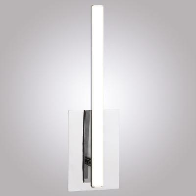 Настенный светодиодный светильник Eurosvet Хай-Тек 90020/1 хром потолочная люстра eurosvet хай тек 90020 6 хром