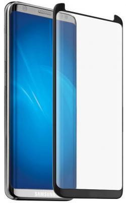 Закаленное стекло 3D DF sColor-28 с цветной рамкой для Samsung Galaxy S8 Plus черный закаленное стекло 3d с цвет рамкой fullscreen для samsung galaxy s8 plus df scolor 19 white
